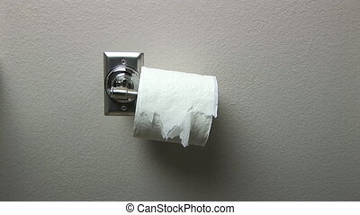 toilet papier, slordige