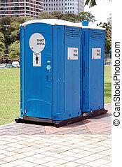 toiletten, draagbaar