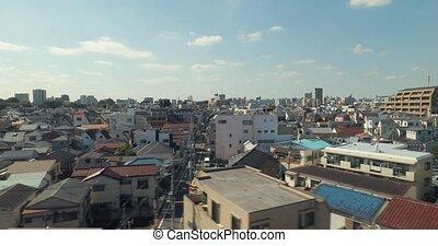 tokio, reis, trein, voorsteden, japan