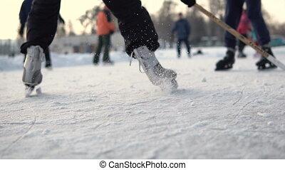 toneelstuk, amateur, hockey