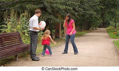 toneelstuk, dochter, enig, spel, ouders, ballons