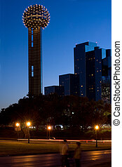 toren, hereniging, nacht