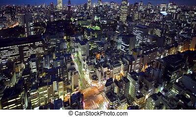 toren, skyline, tokio