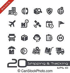 tracking, &, iconen, -, expeditie, grondbeginselen