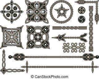 traditionele , keltisch, communie