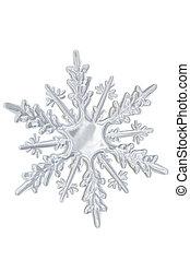 transparant, winter, snowflake.