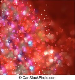 transparency), lights., eps, (without, 8, kerstmis