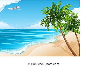 tropisch landschap