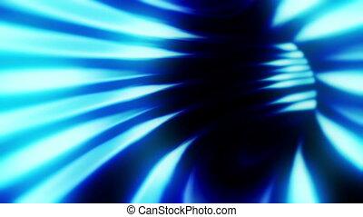 tunnel, blauwe , alleen