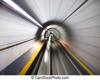 tunnel, door