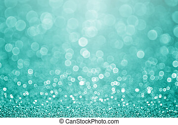 turkoois, schitteren, schittering, wintertaling, achtergrond, groene