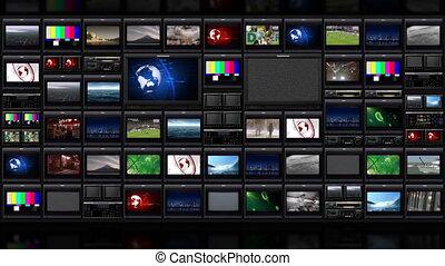 tv, 051, muur