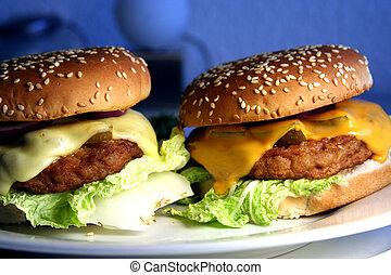 twee, cheeseburgers