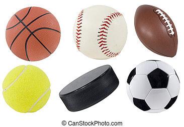 uitrusting, sporten
