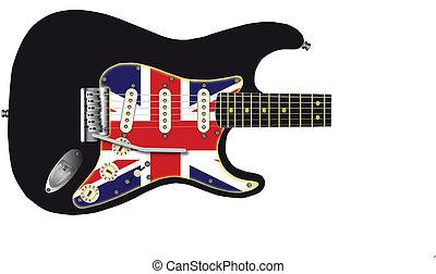 unie, gitaar, dommekracht