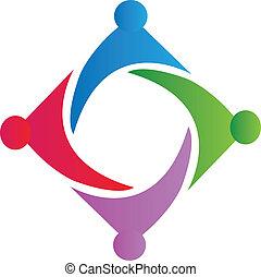 unie, logo, symbool