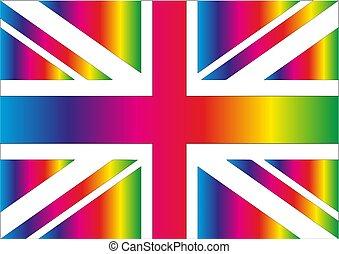 unie, regenboog, dommekracht