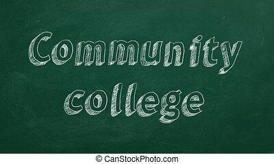 universiteit, gemeenschap