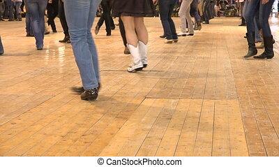 usa, mensen, dans, folk dansen, stijl, land, lijn, cowboy, gebeurtenis