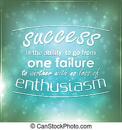 vaardigheid, succes, een, mislukking, een ander, gaan