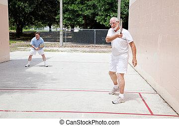 vader, zoon, raquetball