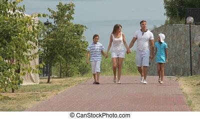 vakantiepark, gezin