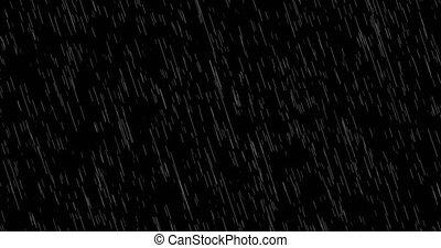 vallende regen, achtergrond, lus