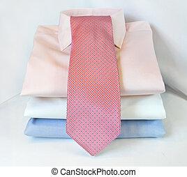 vastknopen, overhemden