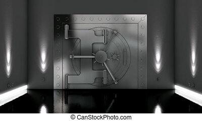 vaulted deur