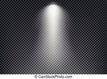 vector, achtergrond., mal, effect, transparant, licht