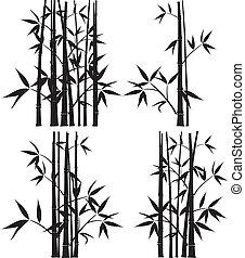 vector, bamboe