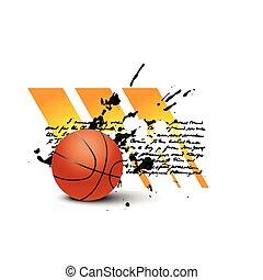 vector, basketbal