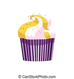 vector, cupcake