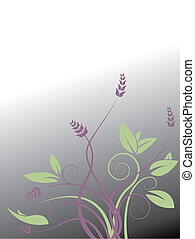 vector, floral