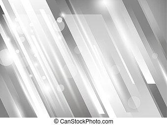 vector, ontwerp, toon, achtergrond, zilver, abstract, moderne