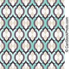 vector, pattern., seamless, marokkaan