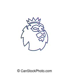 vector, symbool, officieel, illustratie, epl, barclays, mal, logo, pictogram