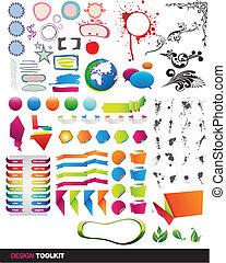 vector, toolkit, communie, designer's