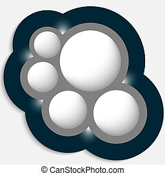 vector, voorwerp, circulaire