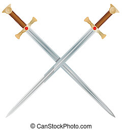 vector, zwaarden