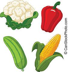 vegetables2, set