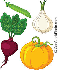 vegetables4, set