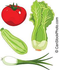 vegetables5, set