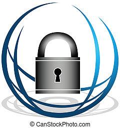 veiligheid, globaal, pictogram