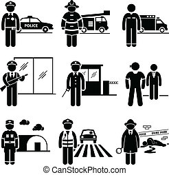 veiligheid, veiligheid, banen, publiek