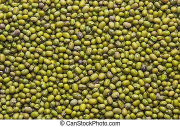 velen, bean), textuur, (mung, zaden, achtergrond