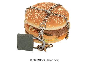 verboden, hamburger