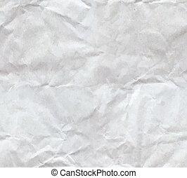verfrommeld papier, blad, seamless