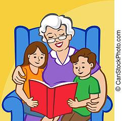verhaal tijd, oma