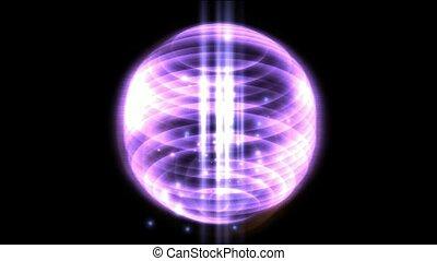 vering, annulus, licht, &, energie